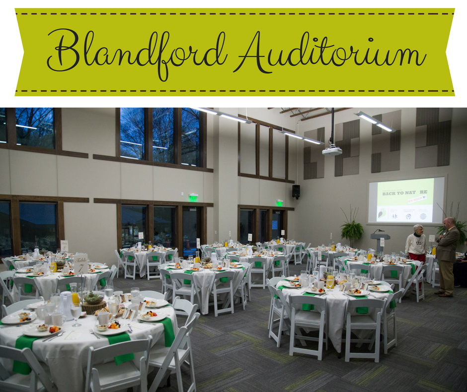 blandford auditorium