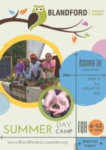 Blandford Nature Center Summer Camp