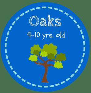 HS Oaks Button