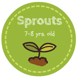 HS Sprouts Button