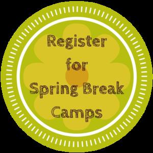 Spring Break Camp Button