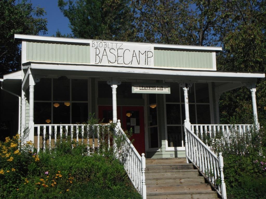 Bioblitz basecamp