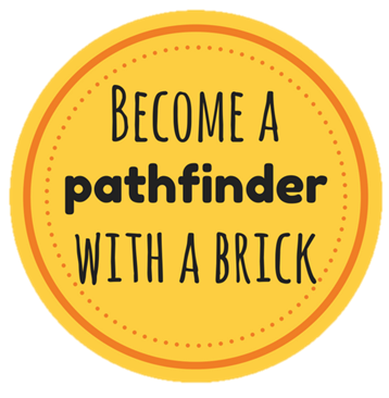 become a pathfinder with a brick
