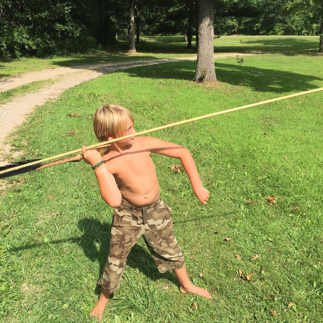 primitive hunting tools
