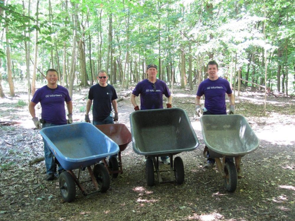 volunteers at BNC