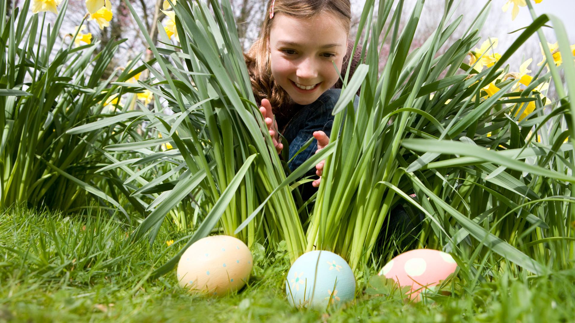 easter egg hunt kids