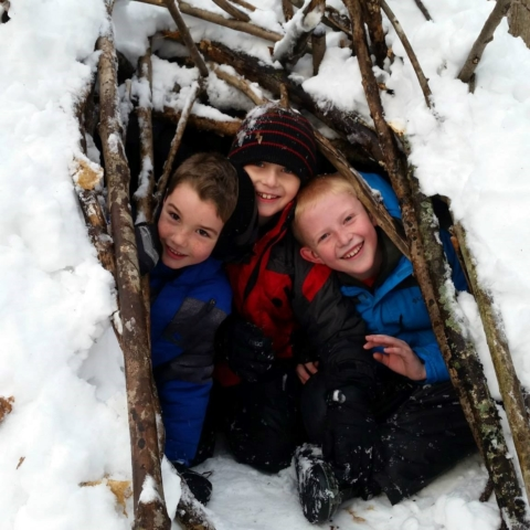 Winter Fort Building: SOLD OUT