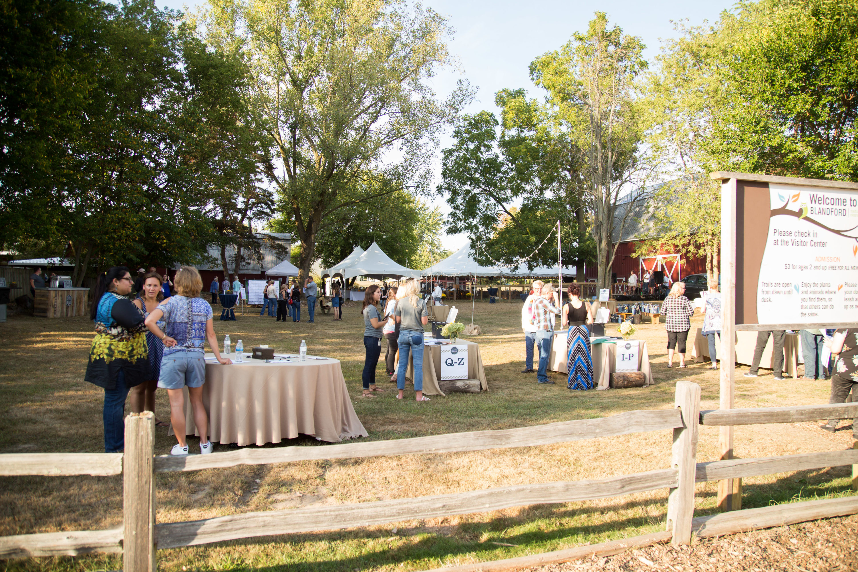 Blandford event yard