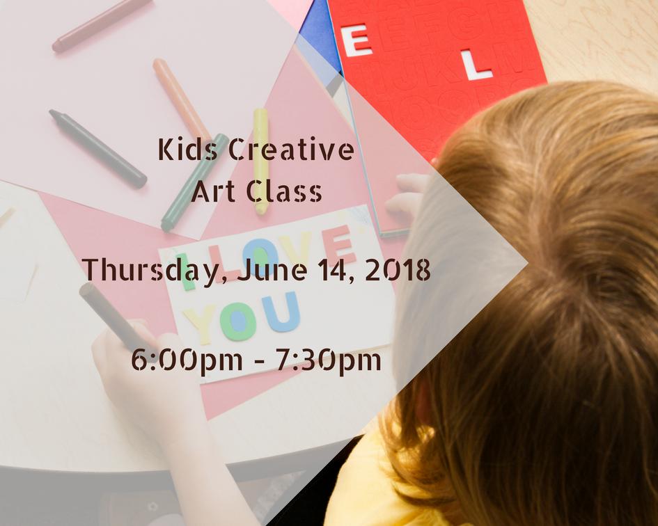 Kids Creative Art Class