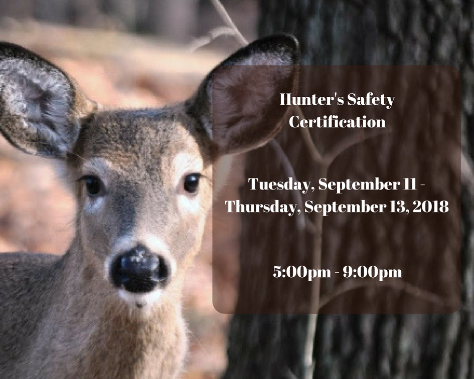 Hunter's Safety Certification
