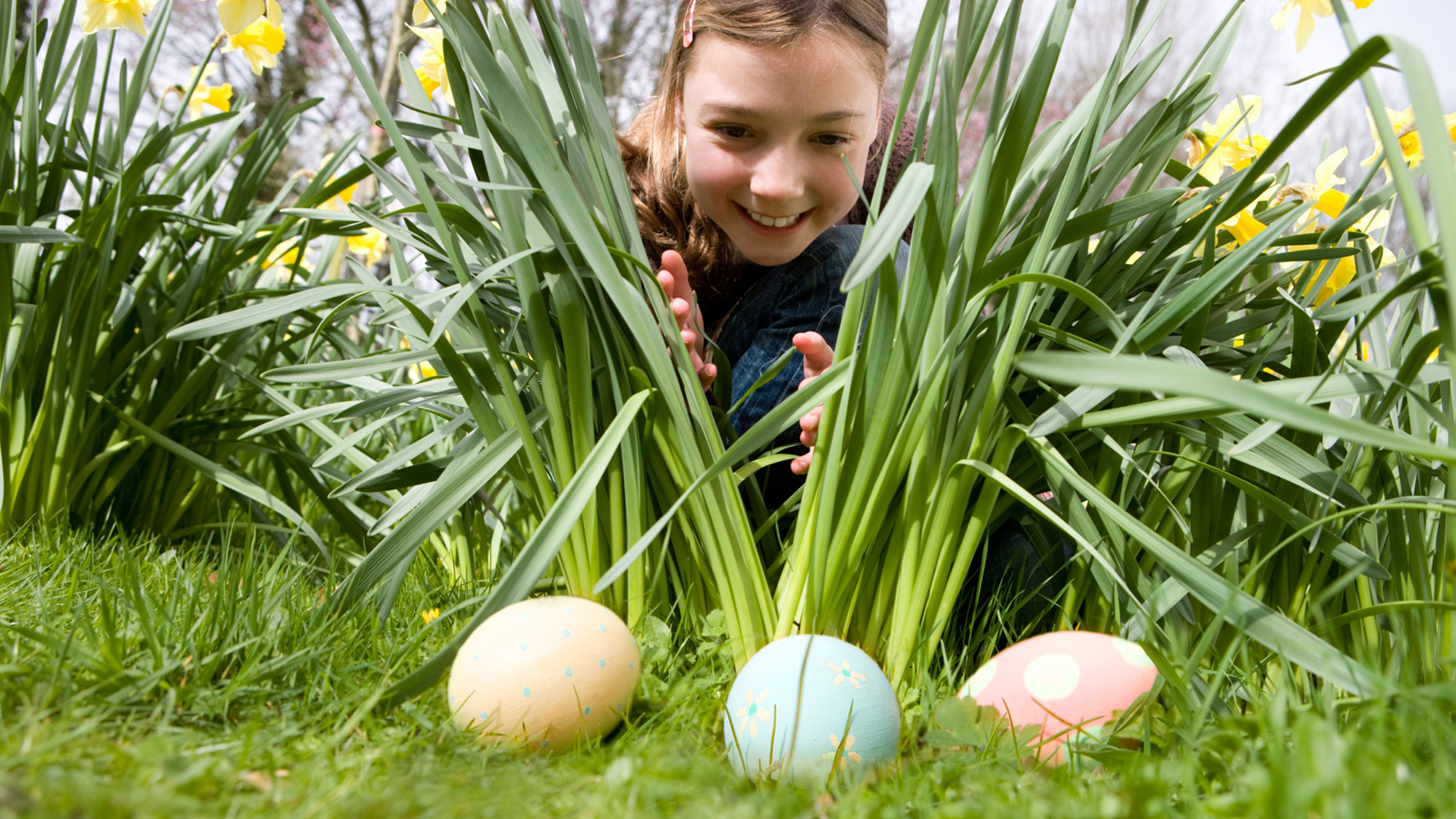 easter egg hunt kids