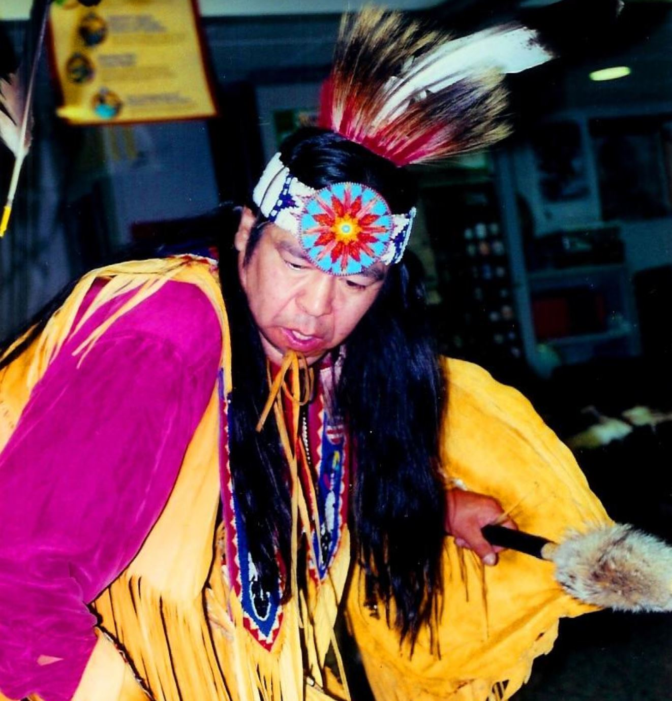native american dance headdress