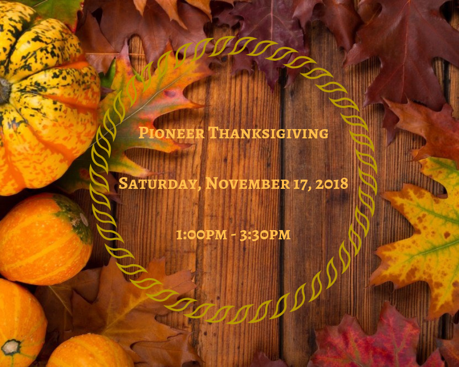Pioneer Thanksgiving