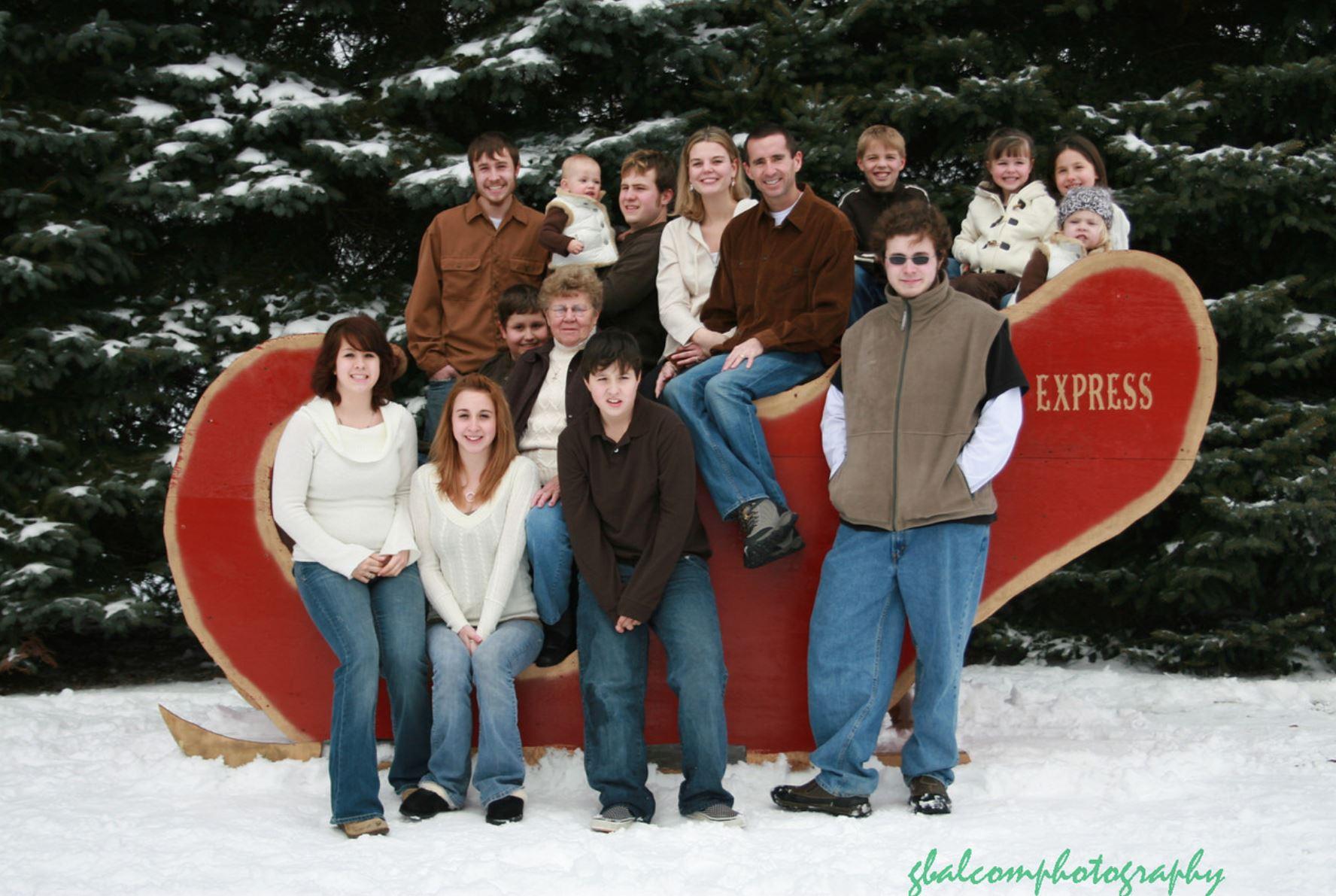 group photo at BNC
