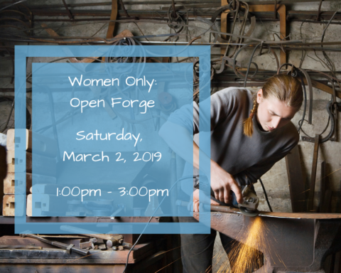 Women Only | Open Forge – Blacksmithing