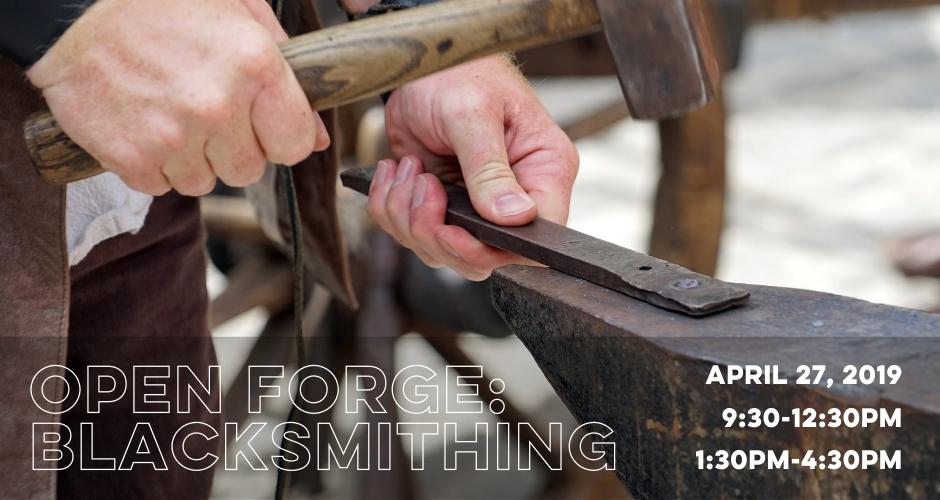 Open Forge Blacksmithing