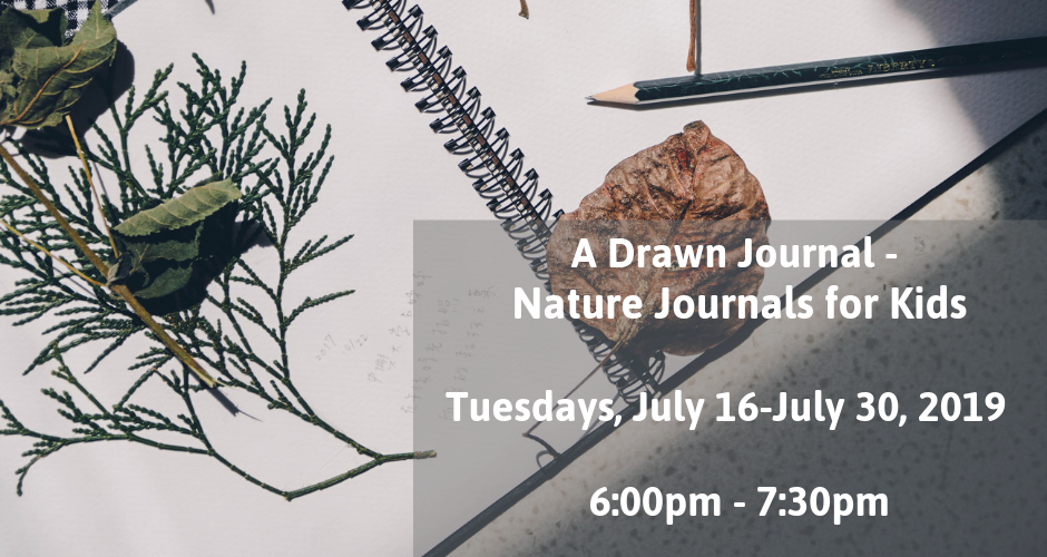 A Drawn Journal - Nature Journals for Kids