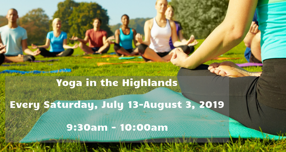 Yoga in the Highlands