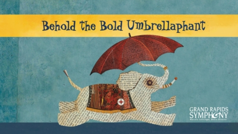 Behold The Bold Umbrellaphant!