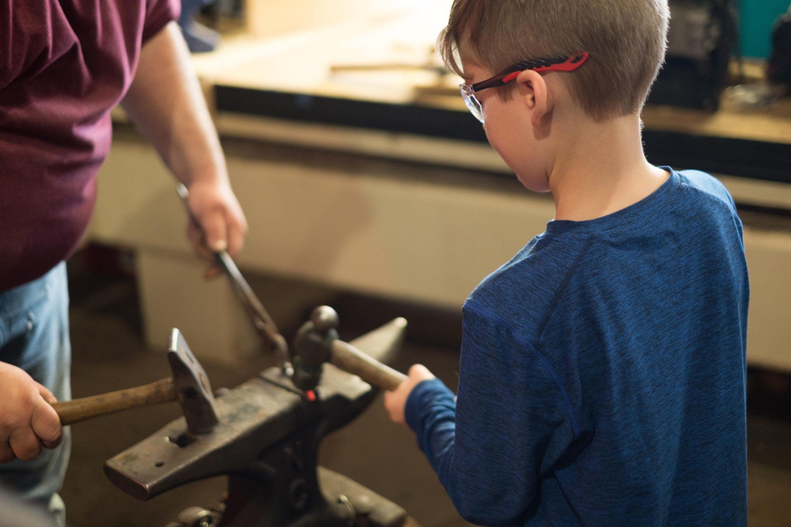kid blacksmith