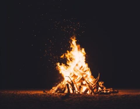 Barnyard Bonfire
