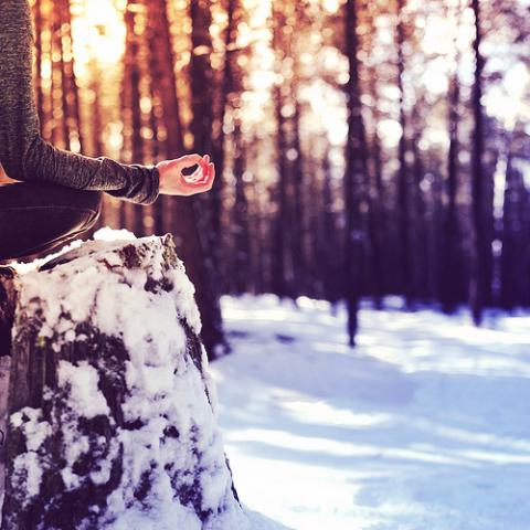 Winter Hike and Meditation
