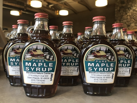 2020 Blandford Nature Center Syrup