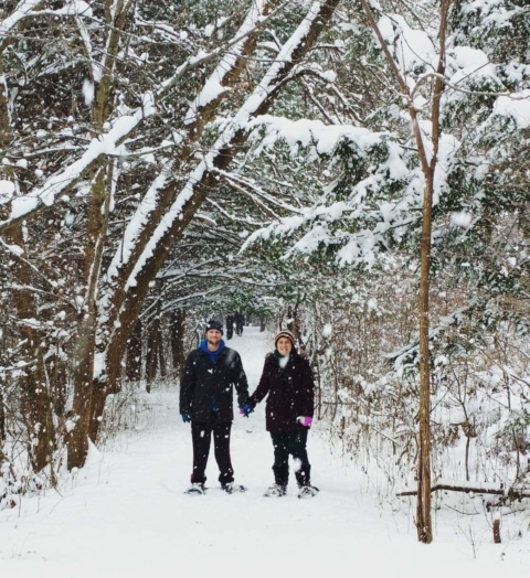 Snowshoe With Your Sweetie (2/13, 7:30-9pm)