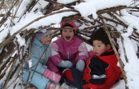 SOLD OUT! Winter Fort Building